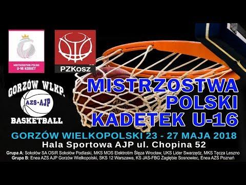 Mistrzostwa Polski Kadetek u16 Gorzów Wlkp. 23.05.2017