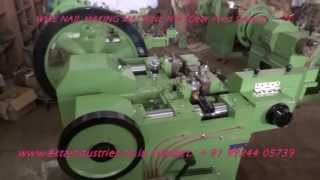 Wire Nail Making Machine Gear Feed System