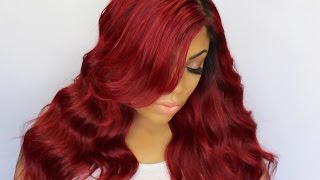 How To: Red Hair Tutorial | International Hair Expressions