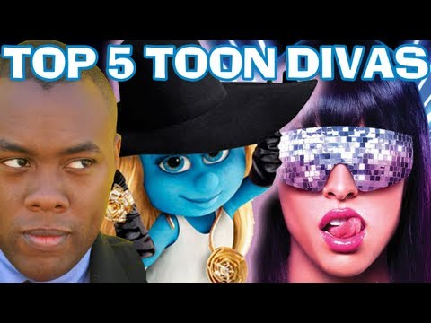 Top 5 Cartoon Divas video