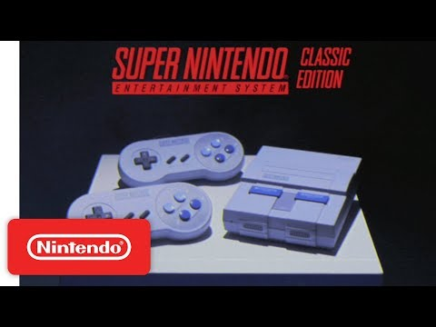 "Super Nintendo Entertainment Systemâ""¢: Super NES Classic Edition Features Trailer"