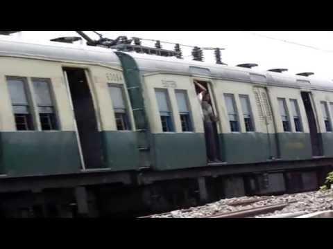Through Train Passing in Our Kolkata At India