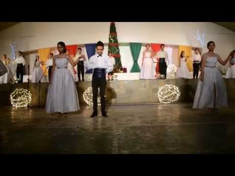 Villaflores College Christmas Presentation 2014 (S4)