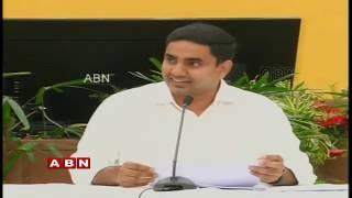 Nara Lokesh Press Meet Live | Lokesh Announces His Property Details | ABN Live