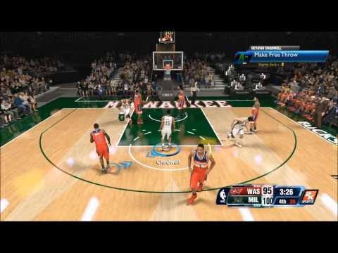 POST GAME DRAMA - NBA 2k14 - Octavio Chadwell - My Career - Wizards vs Bucks
