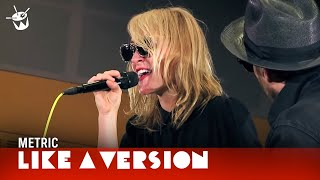 Metric cover Willie Nelson