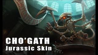 League of Legends: Jurassic Cho'gath Skin Artwork