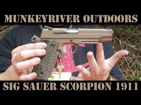 SIG SAUER® 1911 Scorpion .45ACP Review