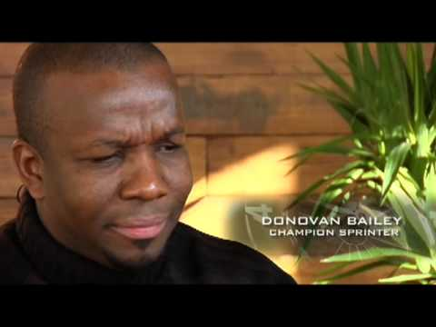 The Defining Moment - Champion Sprinter Donovan Bailey