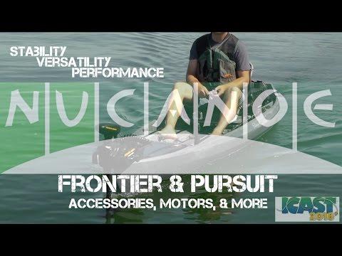 Nucanoe Frontier 12 & Pursuit & Compatible Accessories ICAST 2016