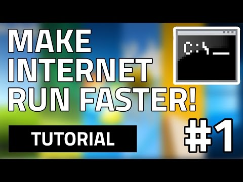 How To Make Your Internet Speed Faster For Free (Using CMD) HD
