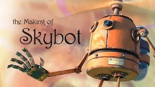 The Making of Skybot using Blender