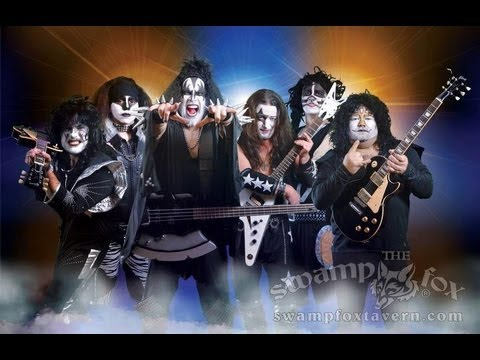 "THROWDOWN JONES - ""KISS-MAS"" TRIBUTE SHOW - LIVE @ The SWAMP FOX in Marion, NC 12-15-12"