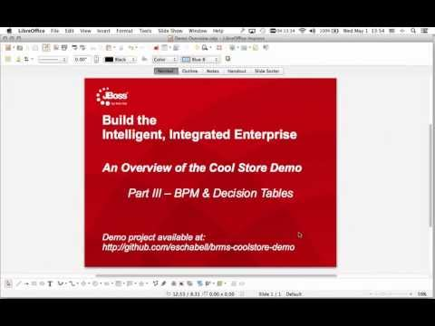 JBoss BRMS Cool Store Demo Part III - BPM and decision tables