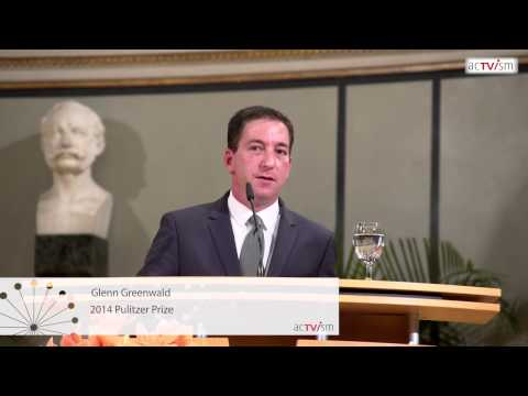 Glenn Greenwald in Munich: Edward Snowden, NSA, Activism, Democracy & Freedom