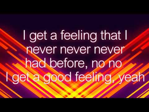 Flo Rida - Good Feeling Lyrics