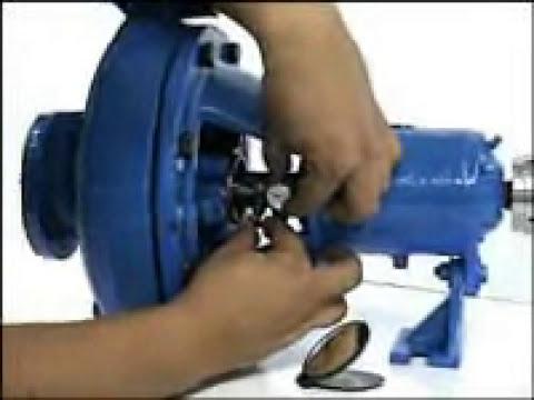 Alineacion antes de instalar un sello mecanico