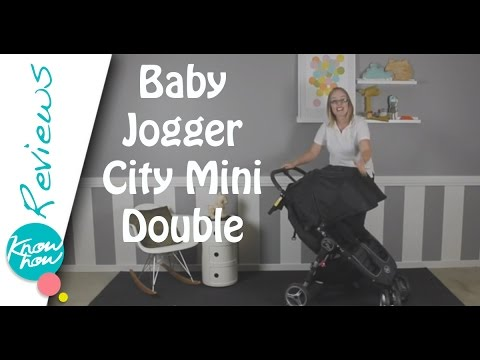 Baby Jogger City Mini Double Stroller Review. Baby Joggers Lightweight Double Stroller