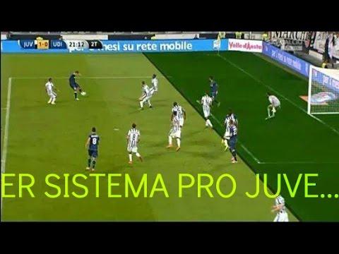 JUVENTUS - Udinese 2-0 LA JUVENTUS HA RUBATO!!11! xd