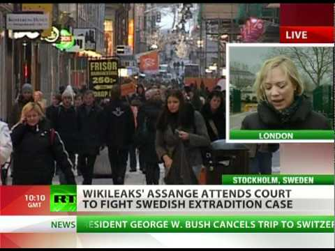 WikiTalkie: Cosy Swedish-US friendship stokes fears of Assange case bias