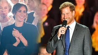 Dad-to-be Harry talks baby joy at Invictus Games opening ceremony