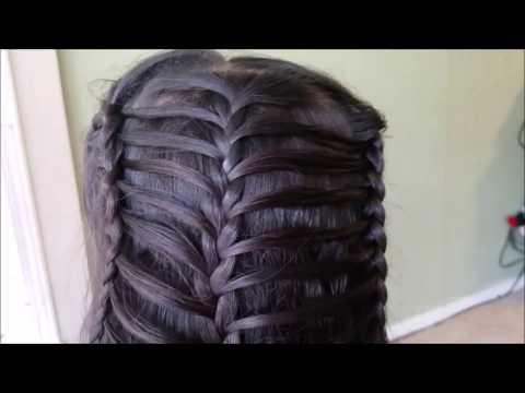 TRENZAS Hermosas y faciles/peinados para niñas 2016