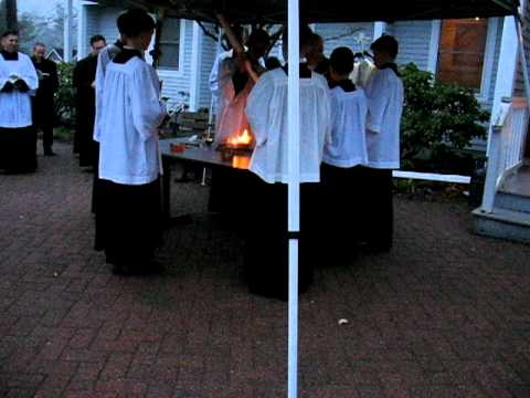 Easter Vigil at St. Benedict Center