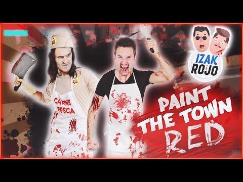 MINECRAFT + POSTAL = Paint the Town Red z IZAKIEM
