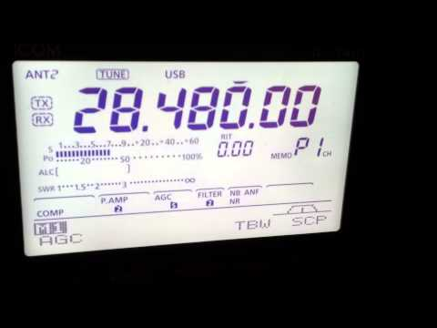 BV9CA QSO with VK5MRD 10m 20/03/2013