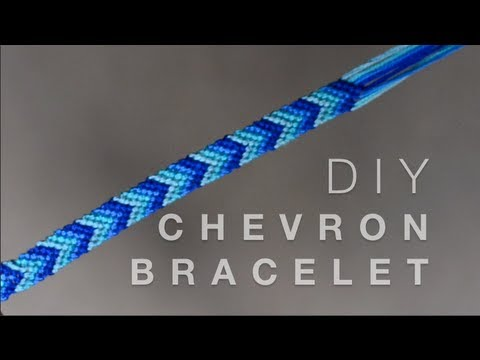 diy chevron friendship bracelet youtube
