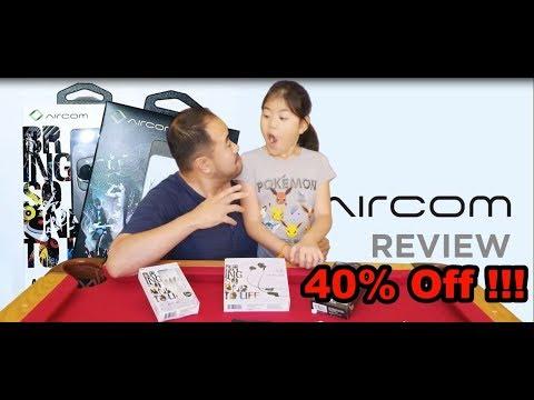Aircom Headphones Review