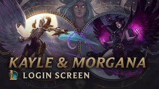 Kayle & Morgana, the Righteous & the Fallen | Login Screen - League of Legends