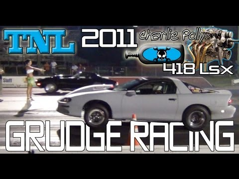KOTS 2011: Stingray Corvette vs Camaro SS 418 LSX title shot!