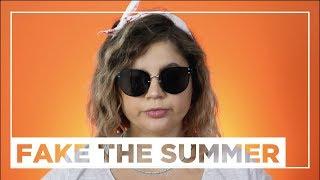 LET'S FAKE THE SUMMER: come fingere di essere state in vacanza! // PP