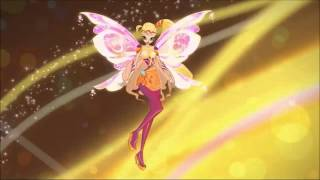 Winx Club Season 6 Bloomix Transformation! English!