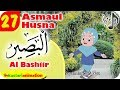 Asmaul Husna 28 Al Bashiir bersama Diva | Kastari Animation Official