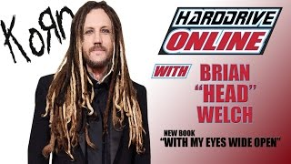"BRIAN ""HEAD"" WELCH talks about his NEW BOOK and Journey Back to KORN"
