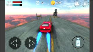 NITRO CARS  - (Mobile stunt racing game)