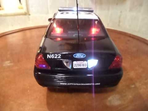 1/18 Sacramento California POLICE Ut LED Lights 4 TONE Siren Policia Tuning RaR  WWW.PO-LIGHT.COM