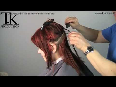 Hold the horses!! I cut my hair!! make-over hairdresser video by Theo Knoop
