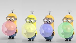 COLORS FOR CHILDREN TO LEARN WITH MINIONS - FUNNY CARTOON FOR KIDS