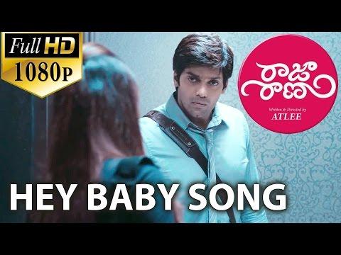 Raja Rani Video Songs - Hey Baby - Aarya, Nayanthara video