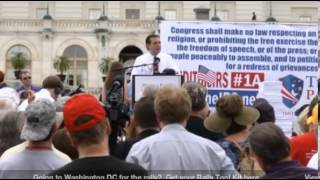 Tea Party Patriots From US Capitol Audit the IRS Rally Ted Cruz 6-19-13