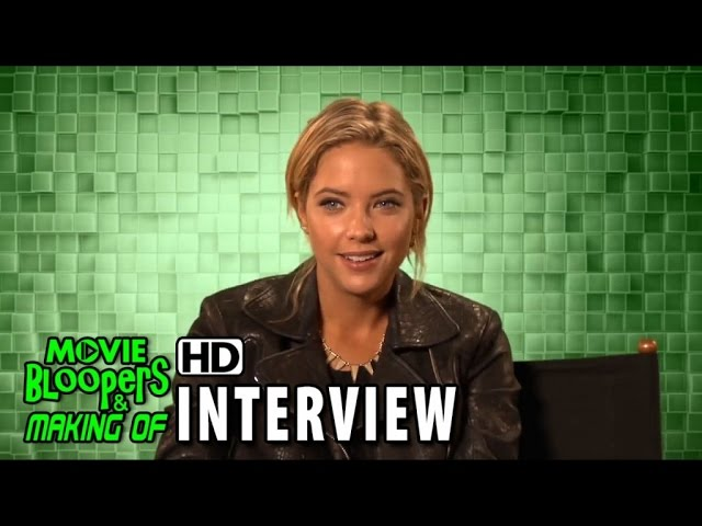 Pixels (2015) Behind the Scenes Movie Interview - Ashley Benson is 'Lady Lisa'