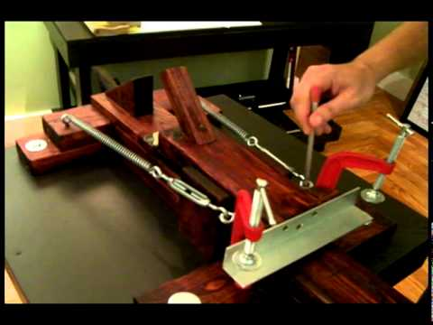 Homemade Screen Printing Press Build Specs