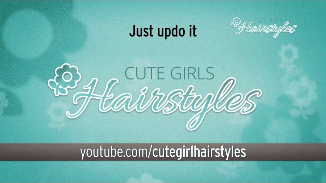 cute girls hairstyles logo images