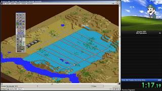 SimCity 2000 - 30k population Speedrun in 1:49.98