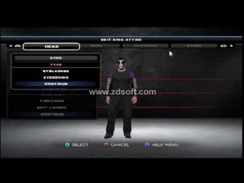 Best Jeff Hardy CAW WWE 13 wii, SVR11 PS2 or PSP