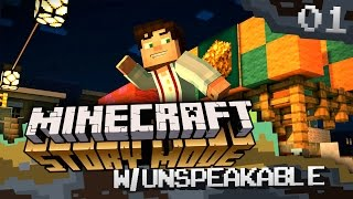 Minecraft: Story Mode - The Order Of The Stones (Episode 1) [1]