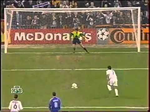 Реал (Мадрид) - Динамо (Киев) 2:2. ЛЧ-1999/00 (обзор нтв+)
